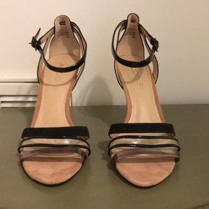 Aldo Strappy Heels.  Never Worn.